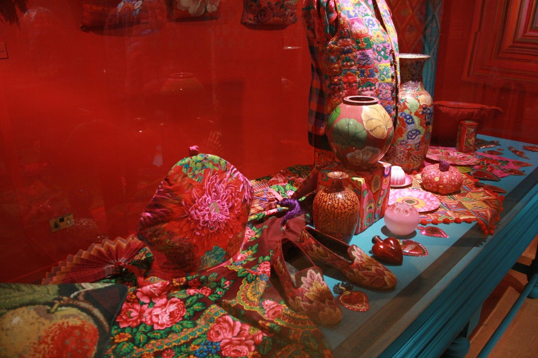 Kaffe Fassett display